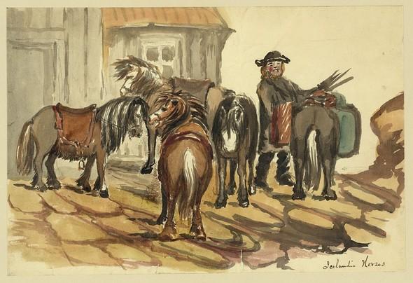 Исландия в середине XIX века: путевые рисунки американского дипломата. Изображение № 8.