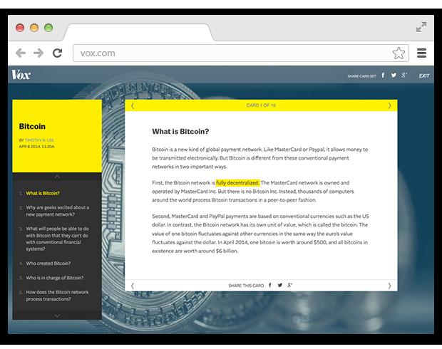 Сайт Vox помогает разобраться в мировых новостях. Изображение № 4.