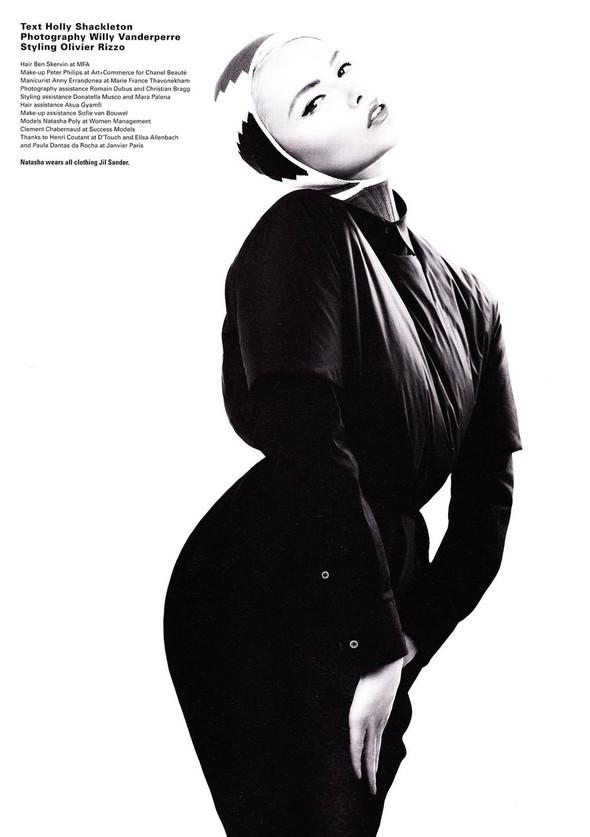 Съёмка: Наташа Поли в Jil Sander для i-D. Изображение № 2.