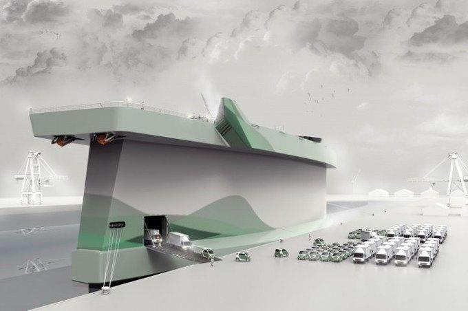 Корабль-парус, машина-яйцо и другие футуристические концепты. Изображение №17.