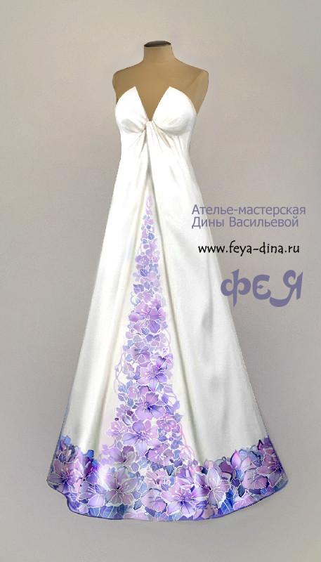 коллекция свадебных платьев от ателье - мастерской Дины Васильевой. Изображение № 6.
