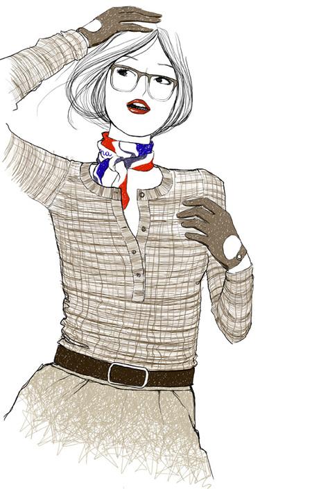 Рисованная мода. Изображение № 3.