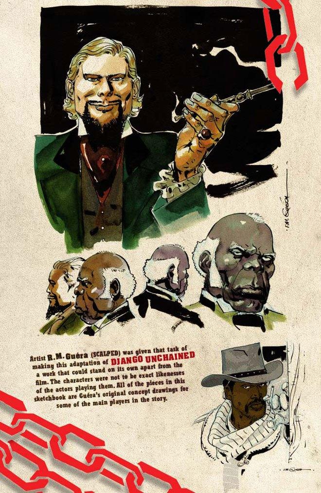 Появился комикс по «Джанго освобожденному». Изображение № 6.