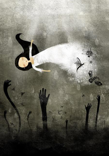 Темная тоска посветлым воспониманиям детства. Изображение № 1.