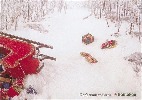 Новогоднее - Рождественский креатив в рекламе. Изображение № 37.