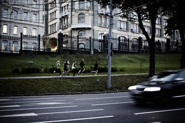 «WE RUN» art by Moskva River Runners. Изображение №4.