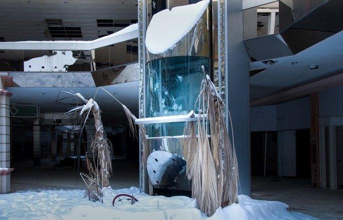 Фото: заброшенный торговый центр в США. Изображение № 14.