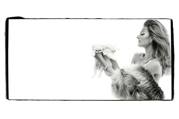 Съёмка: Констанс Яблонски для Vogue. Изображение № 5.