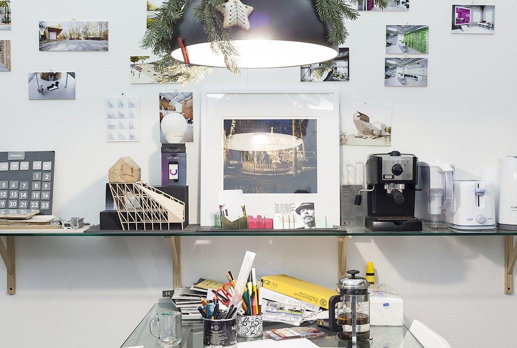 Экзотические птицы и старинные паркеты в архитектурном бюро «Практика». Изображение № 19.