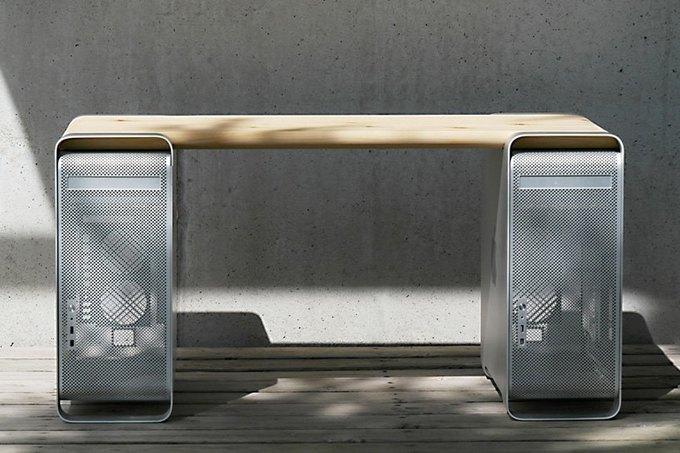Дизайнер создал мебель изкомпьютера Apple. Изображение № 8.