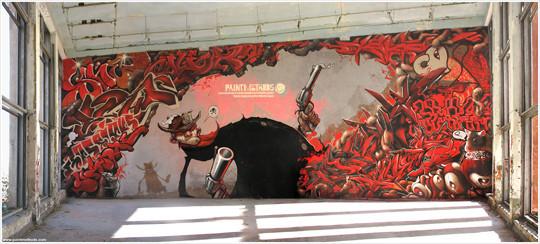 Интервью с граффити райтерами: Morik1. Изображение № 3.