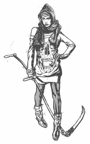 Девушки с оружием от Frank Barbara. Изображение № 21.