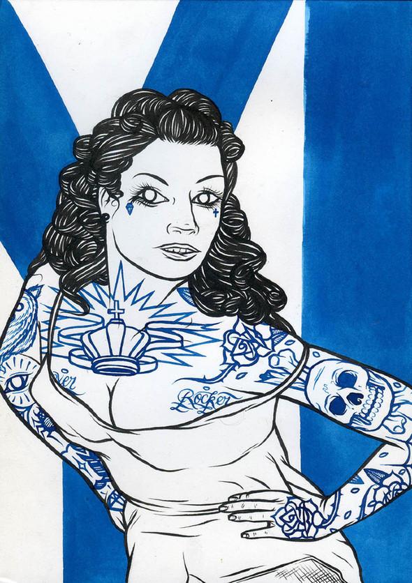 Абстракции и татуировки в концепт шопе WeSC. Изображение № 3.