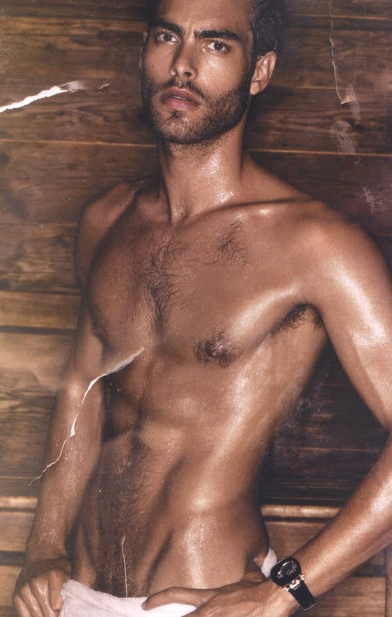 Jon Kortajarena in Vogue Hommes Int. by Mikael Jansson. Изображение № 4.