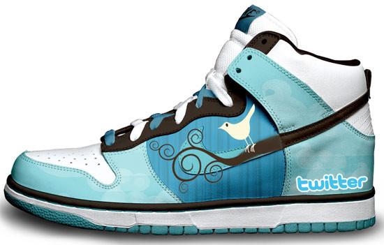 Метаморфозы белых кроссовок Nike. Изображение № 2.
