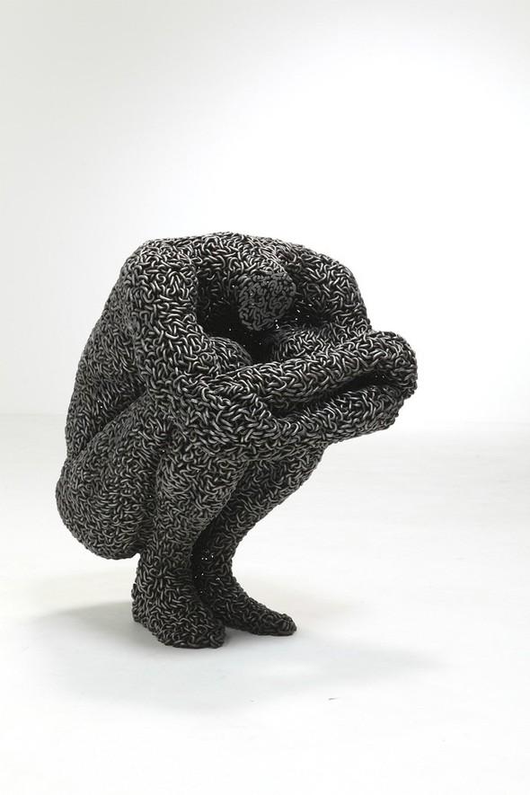 Скульптуры из цепей от Yeong-Deok Seo. Изображение № 16.