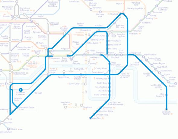 Осторожно! Звери в лондонском метро!. Изображение № 7.