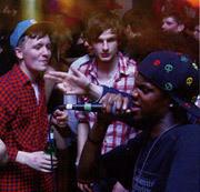 Фото с одной из первых вечеринок NS. Изображение № 3.