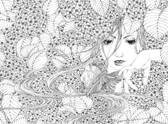 Katsuta Mako – черно-белая грация. Изображение № 29.