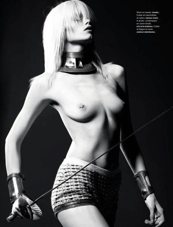 Изображение 4. Эбби Ли Киршоу но обложке Numéro.. Изображение № 4.