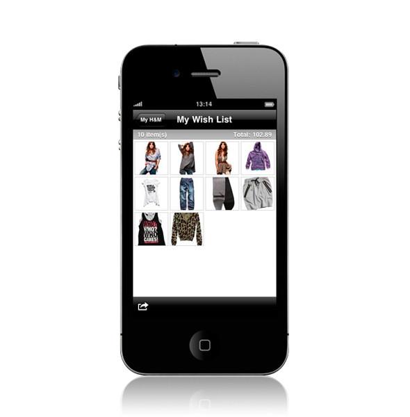Изображение 3. У H&M появилось приложение для iPhone.. Изображение № 3.
