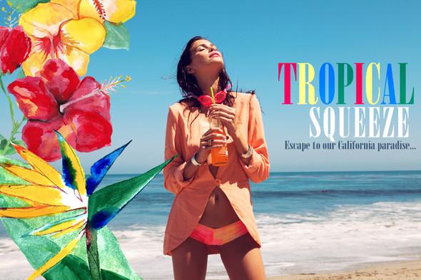 Лукбук Tropical Squeeze, от Blue Planet. Изображение № 1.