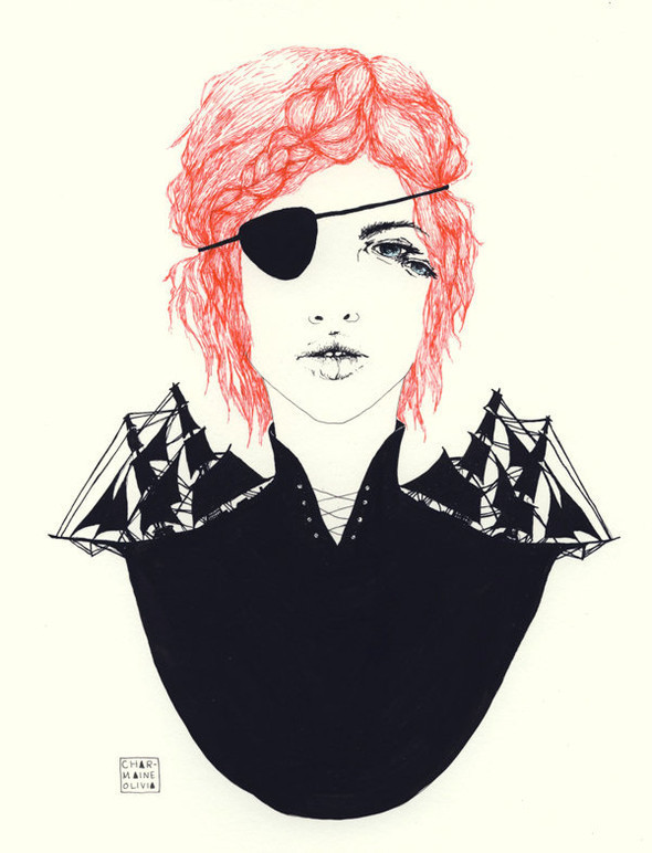 Иллюстрации Charmaine Olivia. Изображение № 21.