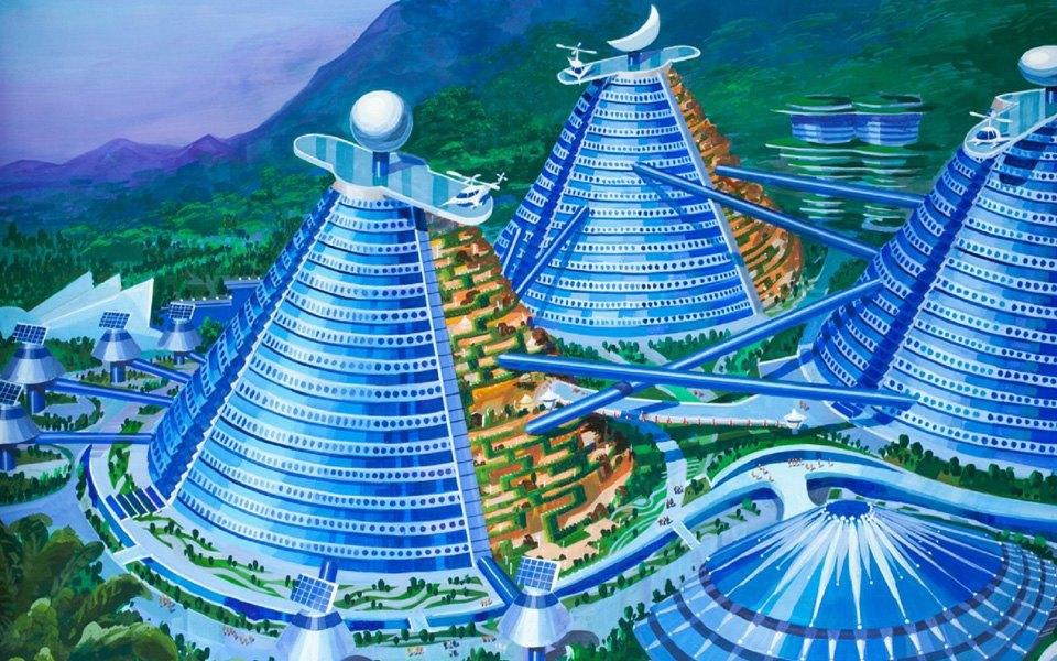 Какой видят архитектуру будущего  в Северной Корее . Изображение № 10.