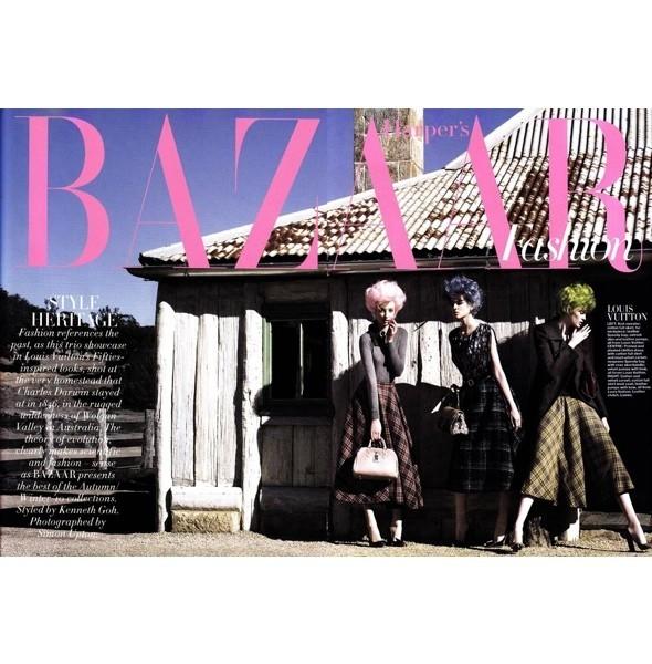 5 новых съемок: Harper's Bazaar, Qvest, POP и Vogue. Изображение № 2.