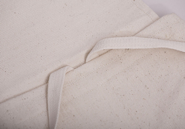 БЕЛОЕ — рюкзаки и сумки из грубого белого хлопка. Изображение № 20.