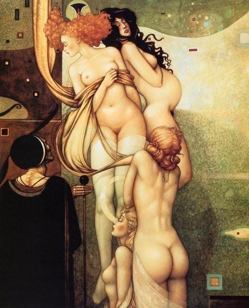 Изображение 12. Michael Parkes.. Изображение № 12.