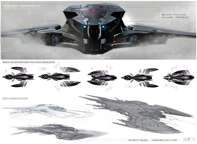 Художник «Восхождения Юпитер» выложил концепты к фильму. Изображение № 29.