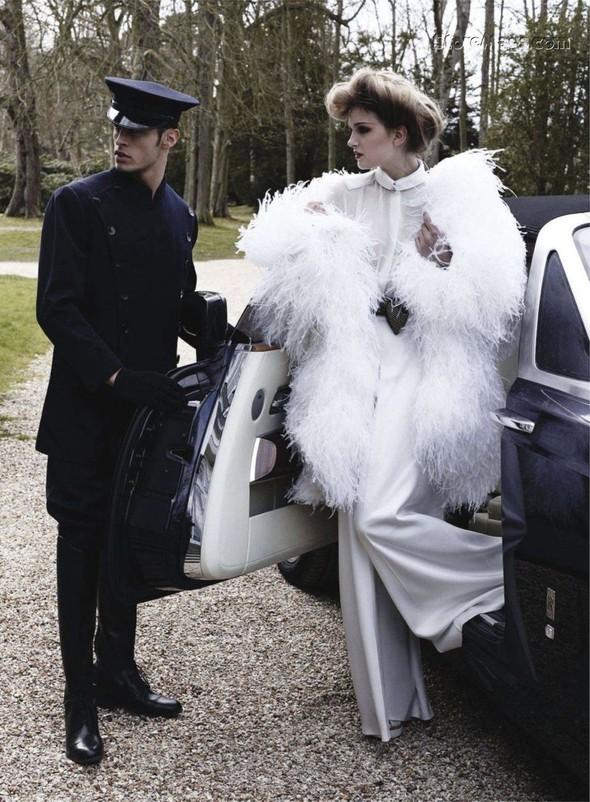 Съёмка: Карл Лагерфельд для Harper's Bazaar. Изображение № 11.