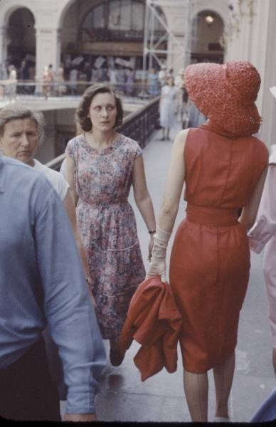 Dior in Moscow, 1959 год. Изображение № 13.