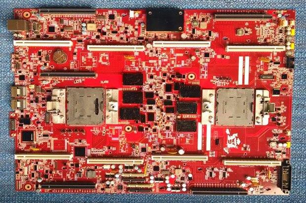 Google показала свою материнскую плату на базе чипа IBM. Изображение № 1.
