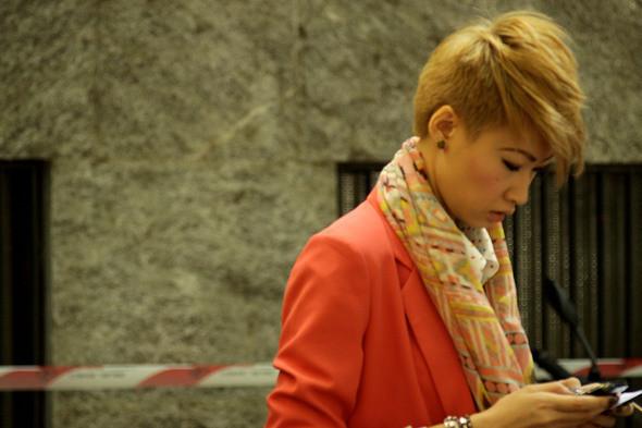 Изображение 11. Девушки на Milan Fashion Week: день 3 и 4.. Изображение № 10.
