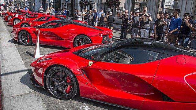 Фото: выставка суперкаров Ferrari в Беверли-Хиллз. Изображение № 4.