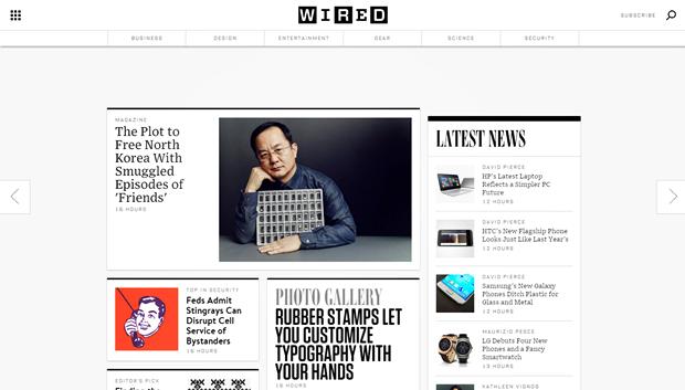 Издание Wired провело полный редизайн сайта. Изображение № 2.