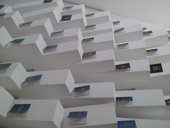 Экспозиция в культурном центре Louis Vuitton. Изображение № 14.