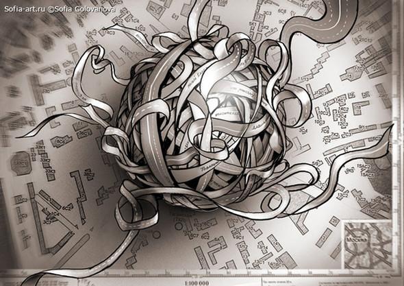 Иллюстратор Софья Голованова. Изображение № 14.