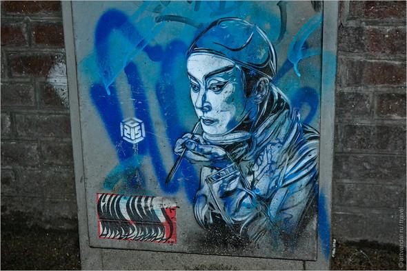 Стрит-арт и граффити Амстердама, Нидерланды. Изображение № 50.