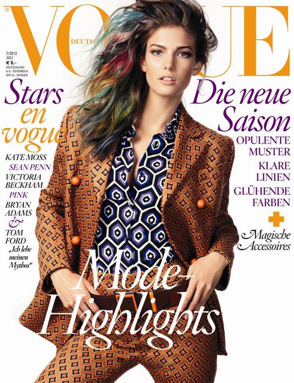 Обложки: Dazed & Confused, Vogue и другие. Изображение № 5.