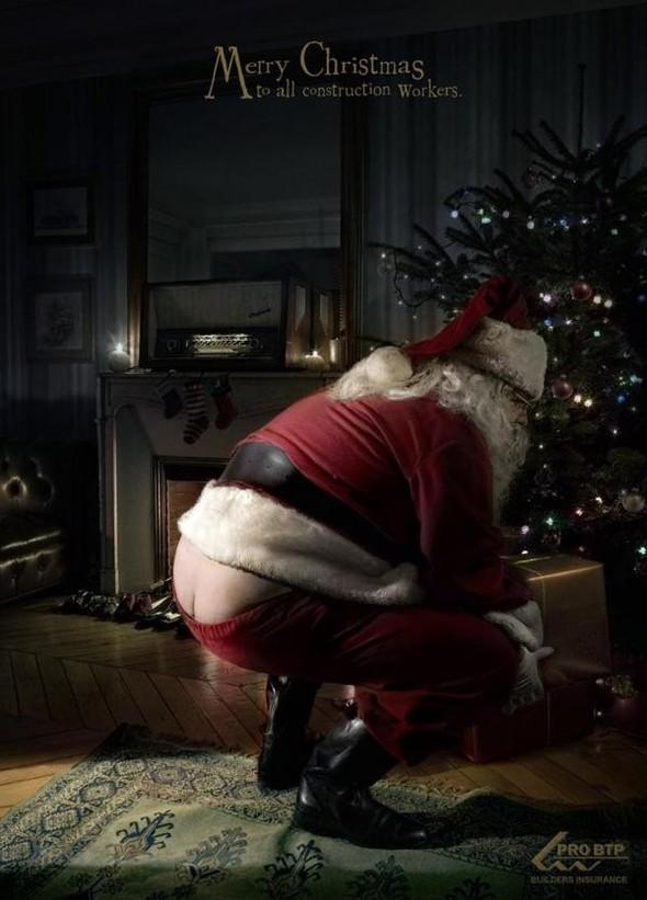 69 рождественских рекламных плакатов. Изображение № 16.