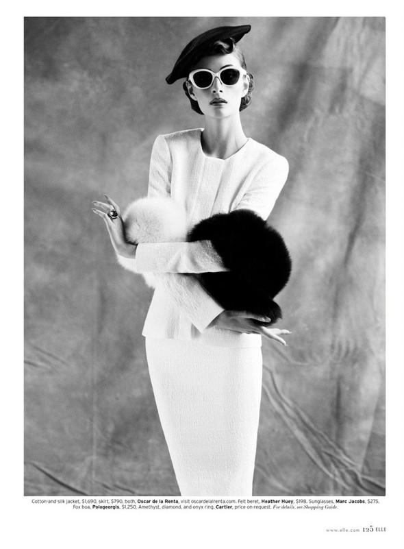 Съёмка: Сюзи Берд для Elle. Изображение № 9.