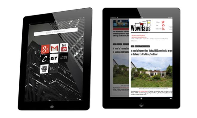 Opera представила инновационный браузер для iPad. Изображение № 1.