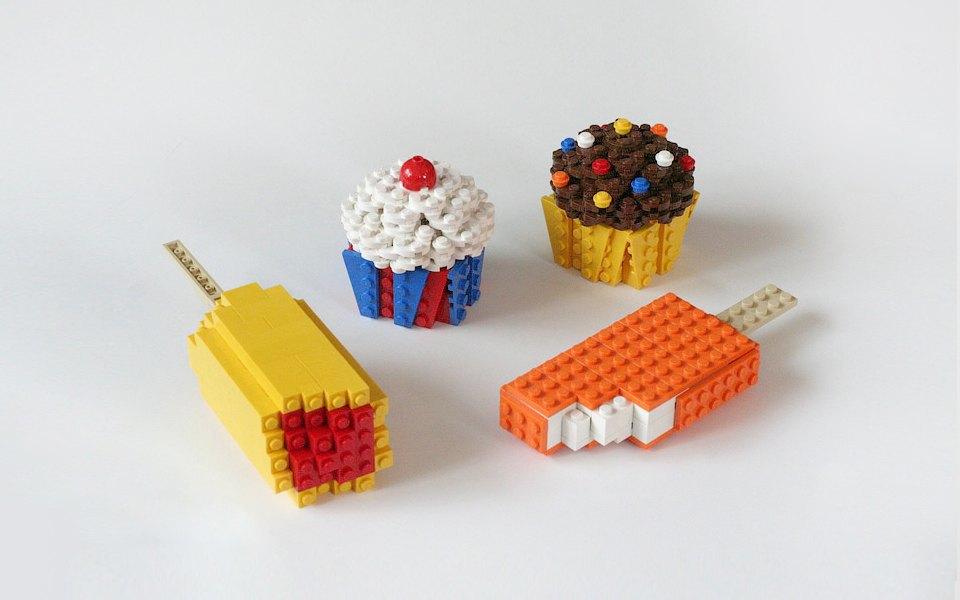 Как выглядит еда, сделанная из LEGO. Изображение № 10.