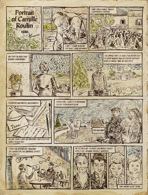 История о Винсенте Ван Гоге. Изображение № 3.