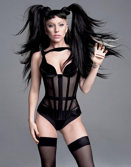 Изображение 3. Lady GaGa в журнале V. Июнь 2011.. Изображение № 3.