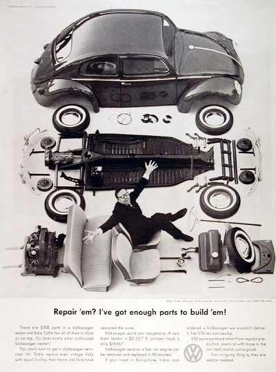 Эволюция рекламы Volkswagen. Изображение № 6.