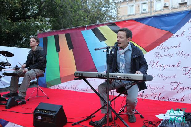 Бульвар искусств 2012. Рождественский бульвар.. Изображение № 3.